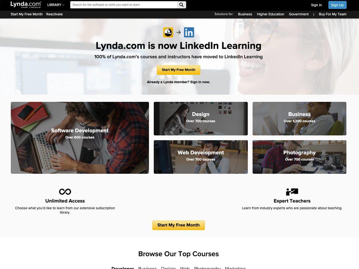 The LinkedIn Course Platform