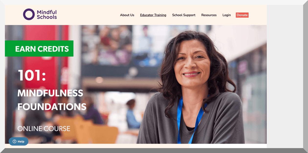 101- Mindfulness Foundations – Mindful Schools