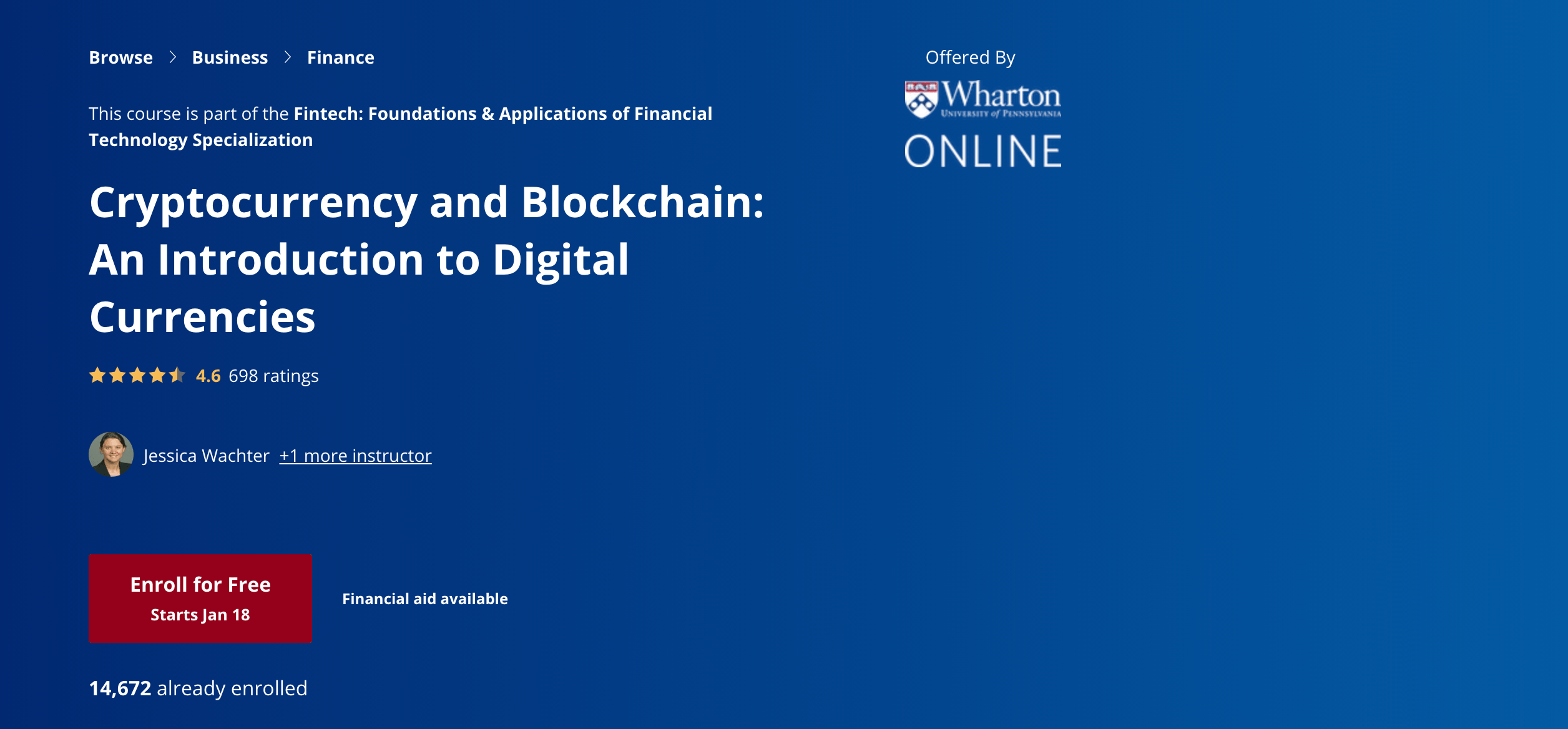 Cryptocurrency and Blockchain- An Introduction to Digital Currencies Coursera