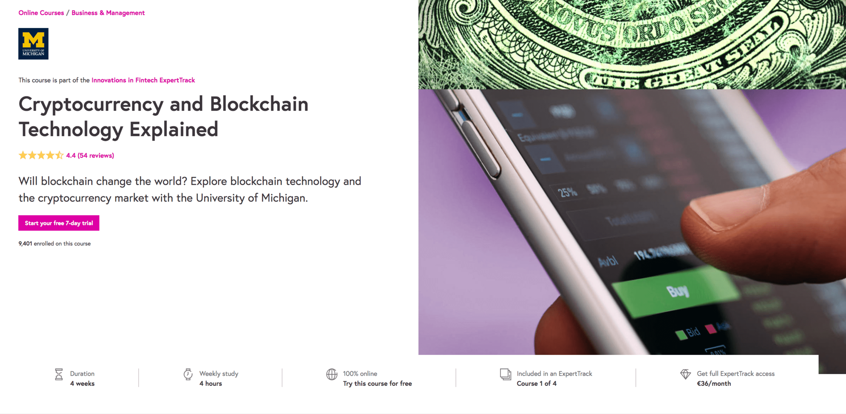 Cryptocurrency and Blockchain Technology Explained Futurelearn