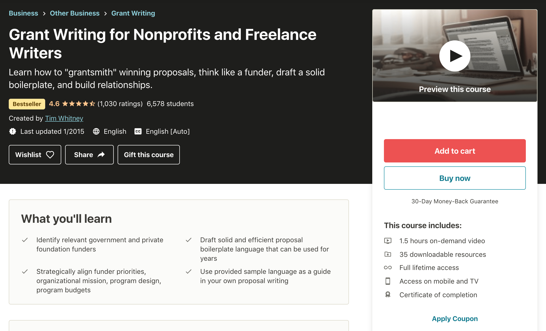 Grant-Writing-for-Nonprofits-and-Freelance-Writers-Udemy