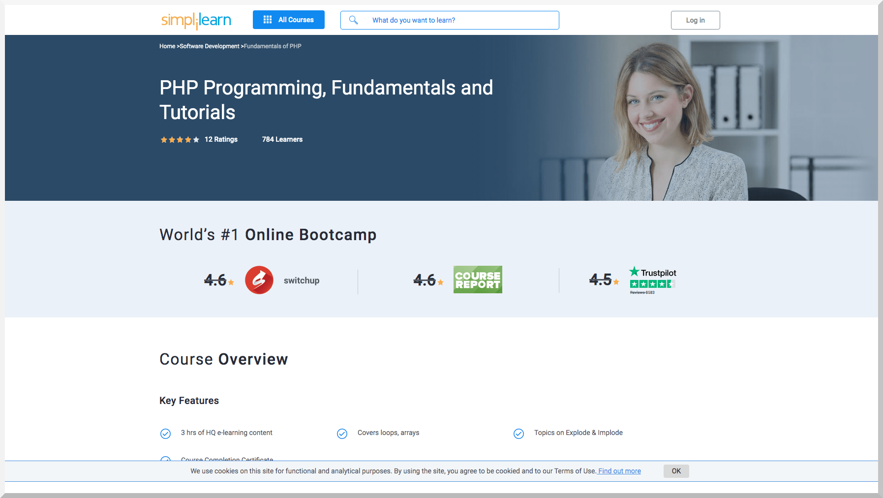 PHP Programming, Fundamentals and Tutorials – Simplelearn