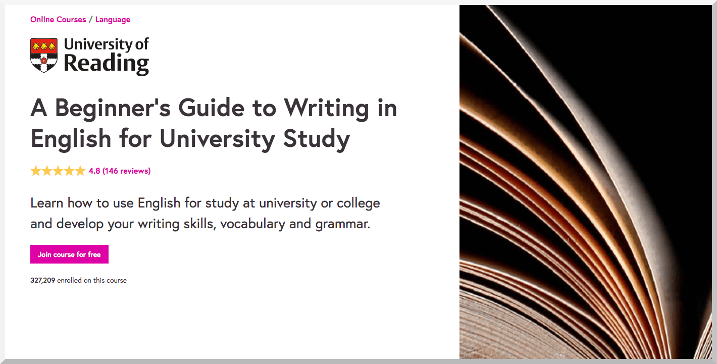 A Beginner's Guide to Writing in English for University Study – FutureLearn