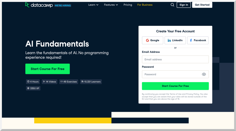 AI Fundamentals – DataCamp