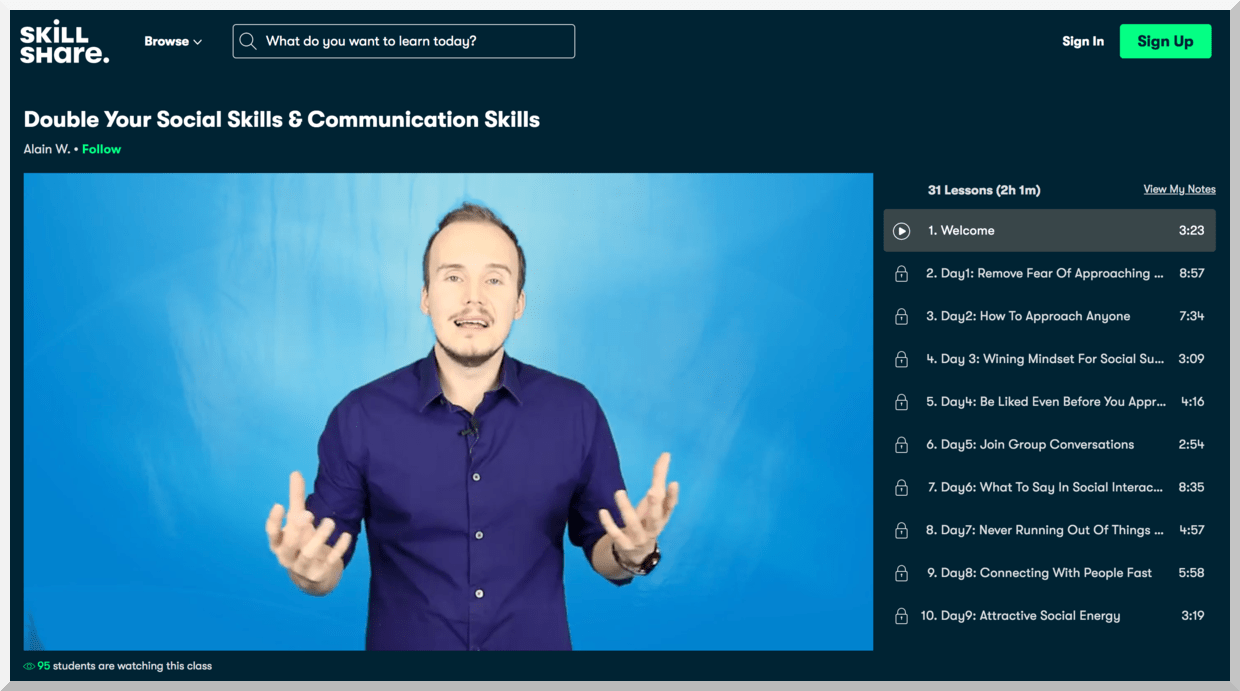 Double Your Social Skills & Communication Skills – SkillShare