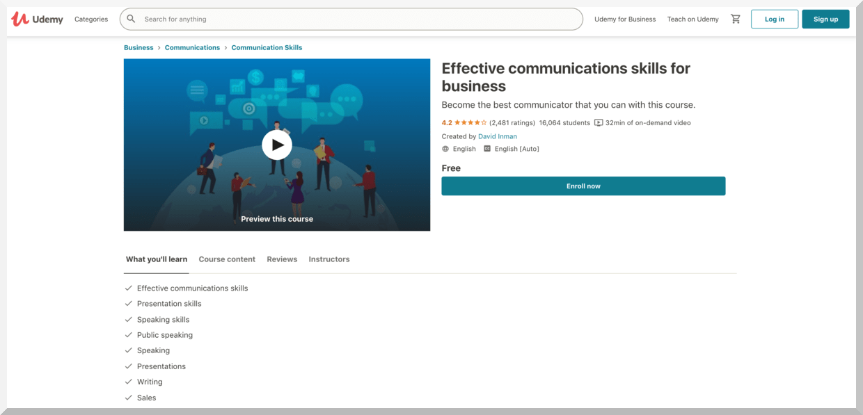 Effective Communications Skills Business for – Udemy
