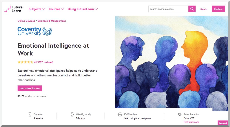 Emotional Intelligence at Work – FutureLearn