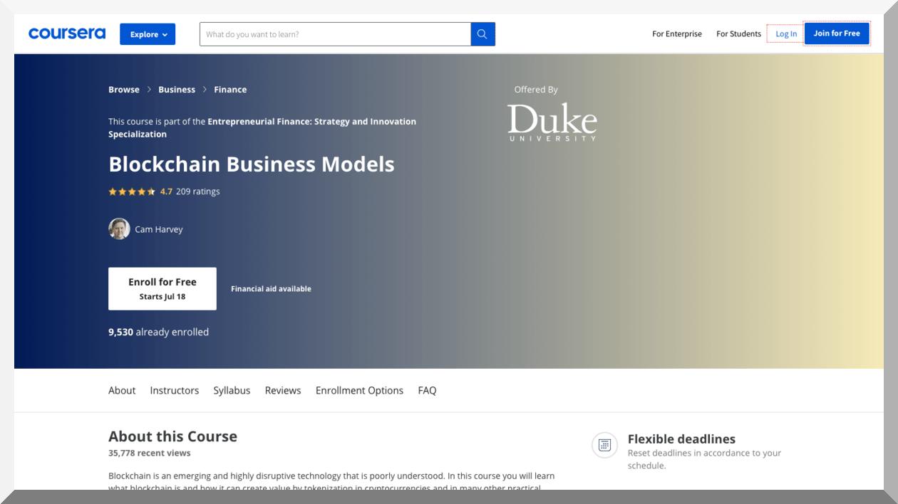 Blockchain Business Models