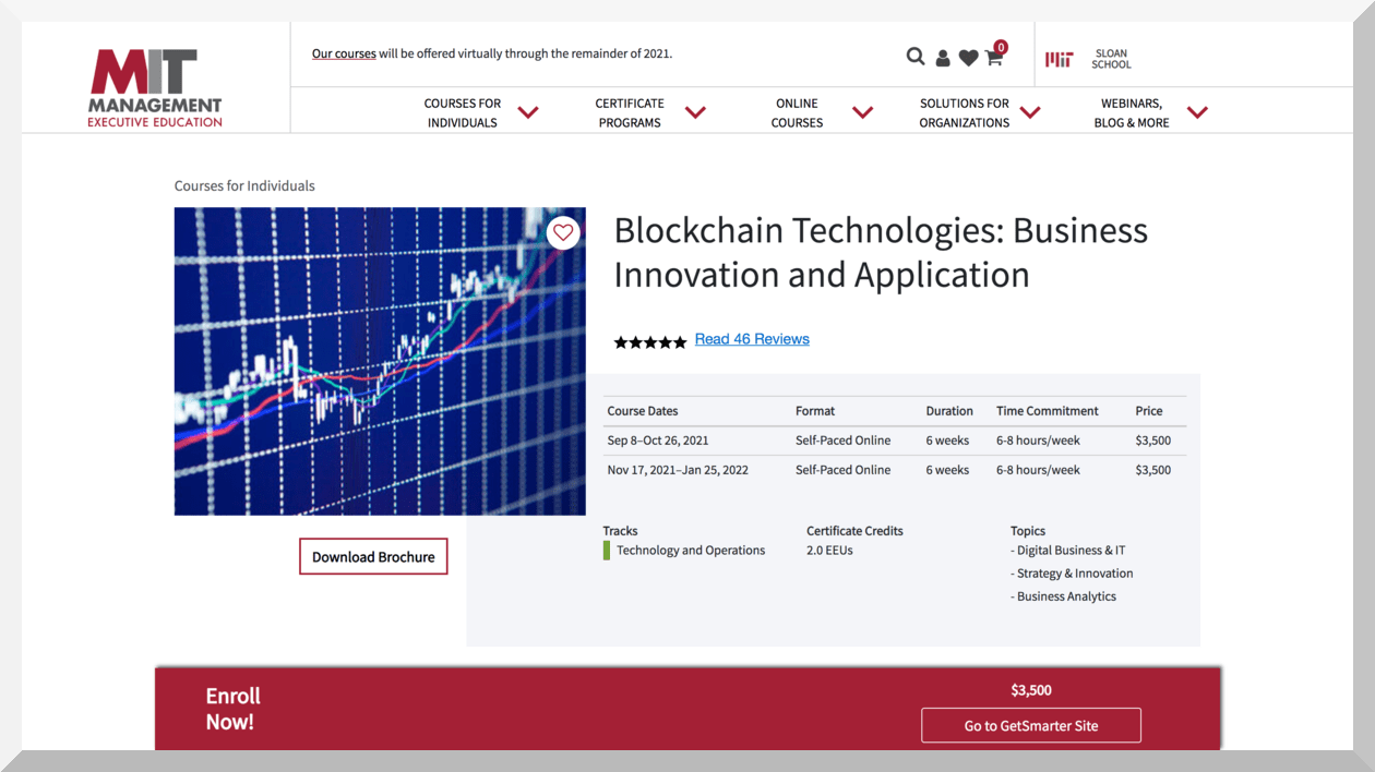 Blockchain Technologies- Business Innovation and Application - MIT