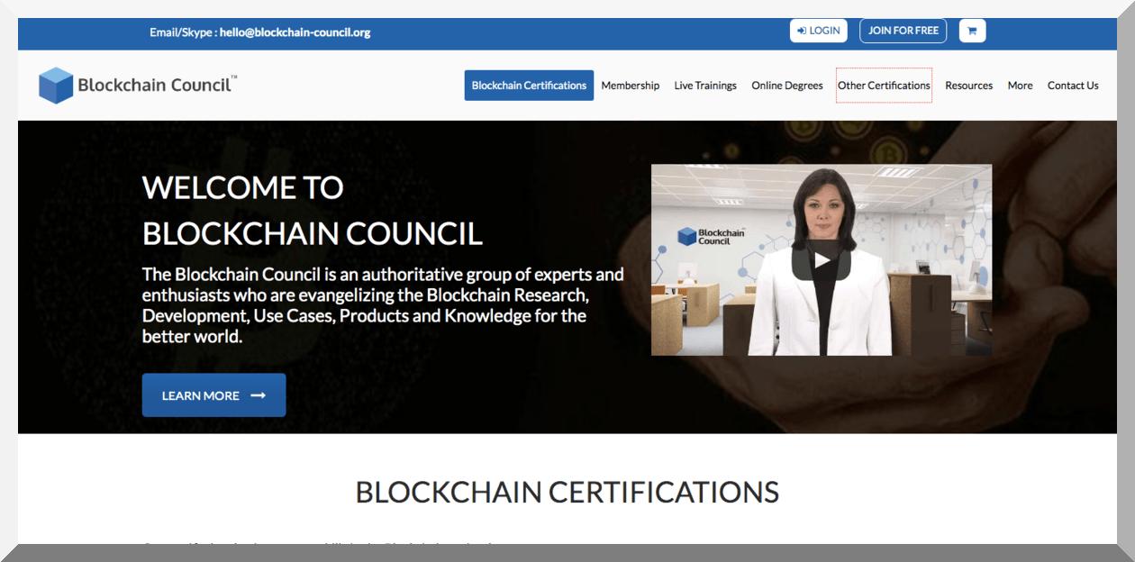 Certified Blockchain Developer – Blockchain Council