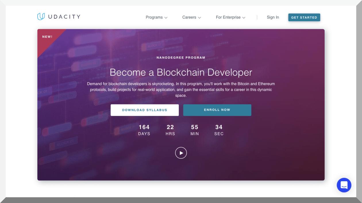 Blockchain Developer Nanodegree Program – Udacity