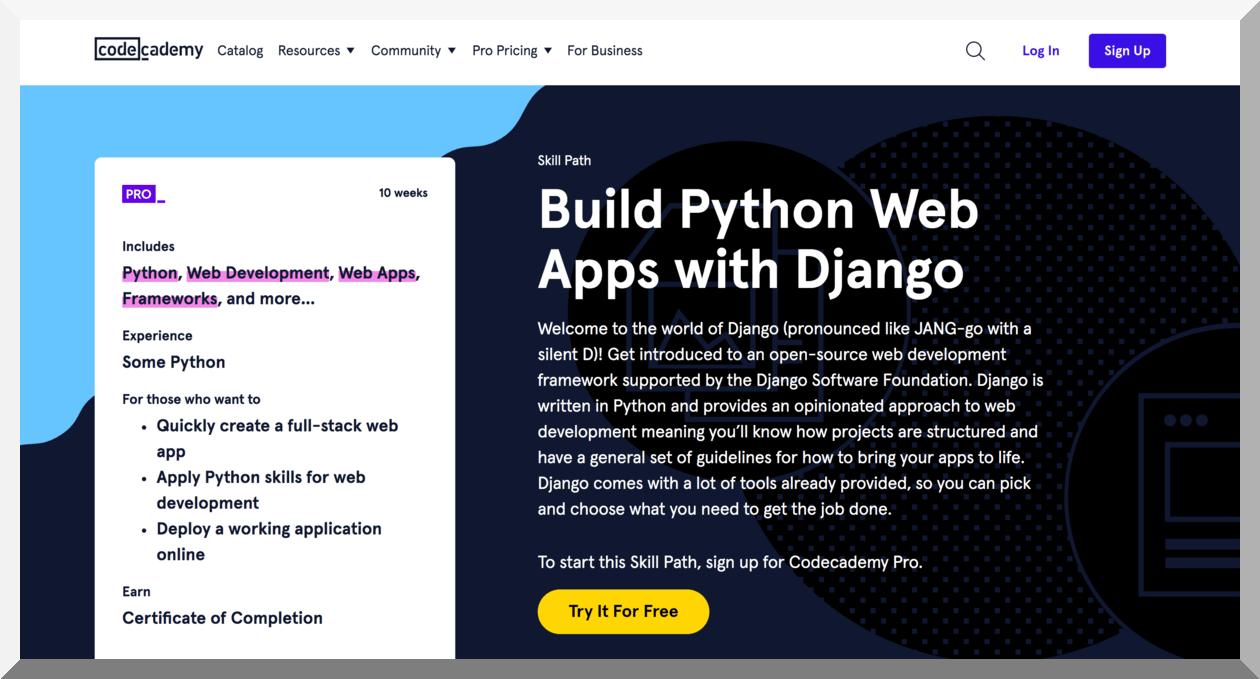 Build Python Web Apps with Django