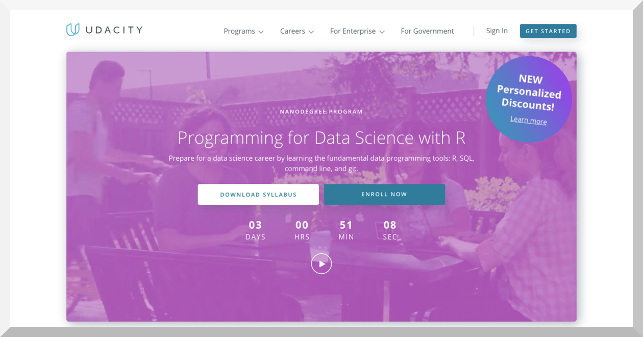 Programming with Data Science with R – Udacity