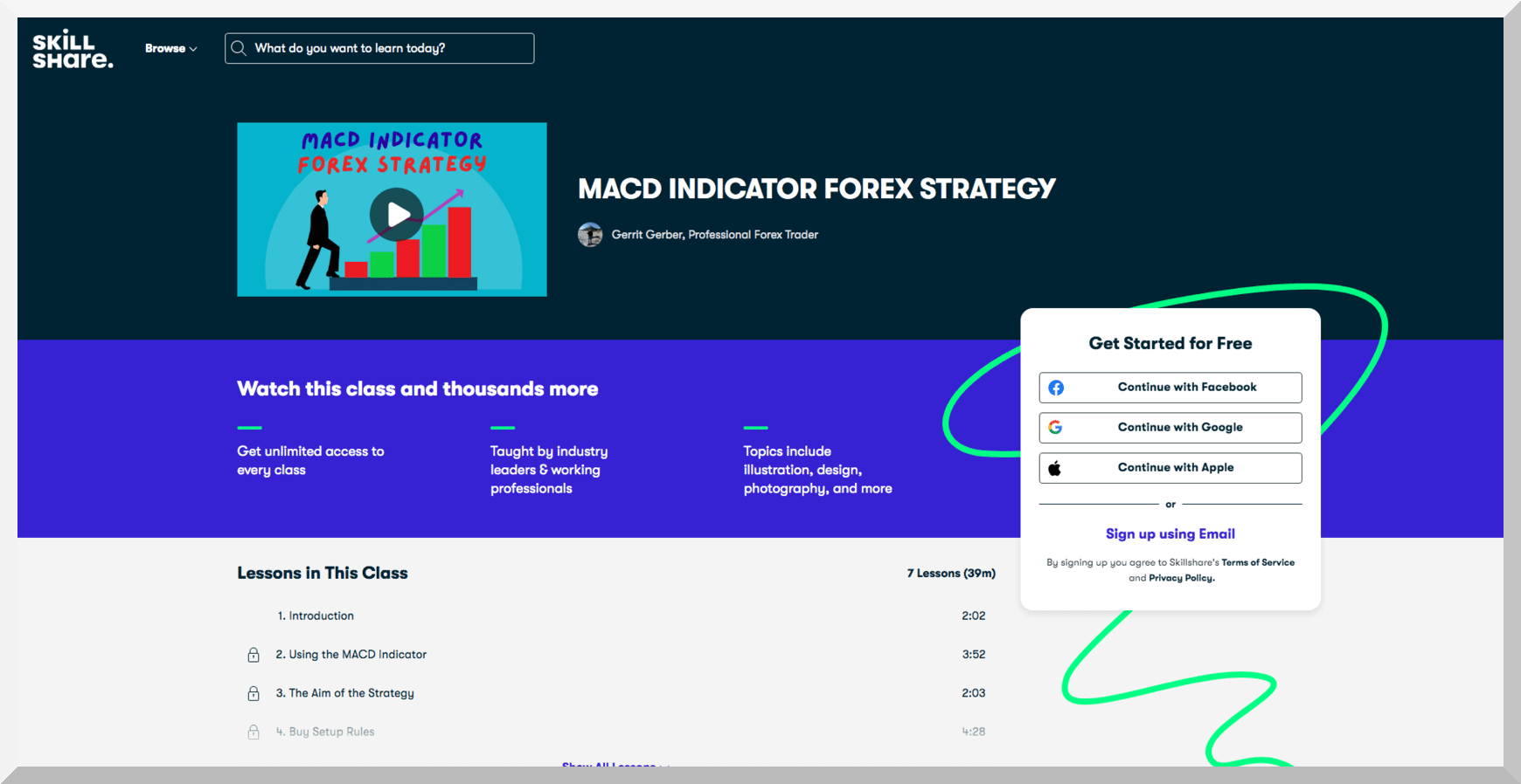 MACD Indicator Forex Strategy – Skillshare