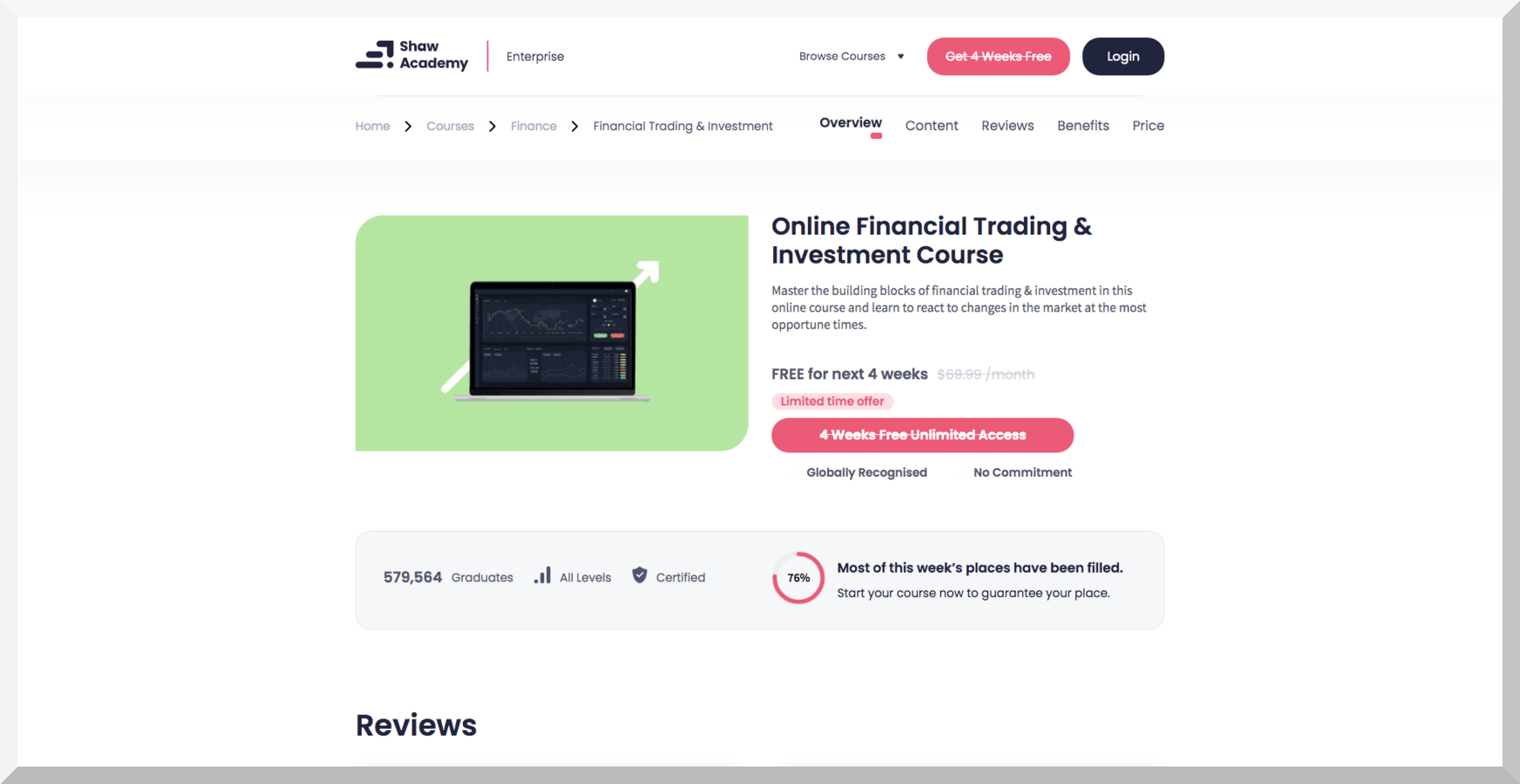 Online Financial Trading and Investment Course – Shaw Academy